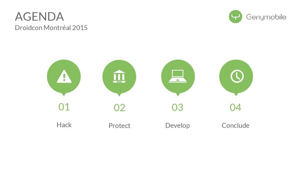 AGENDA Droidcon Montréal 2015 01 Hack 02 Protec...