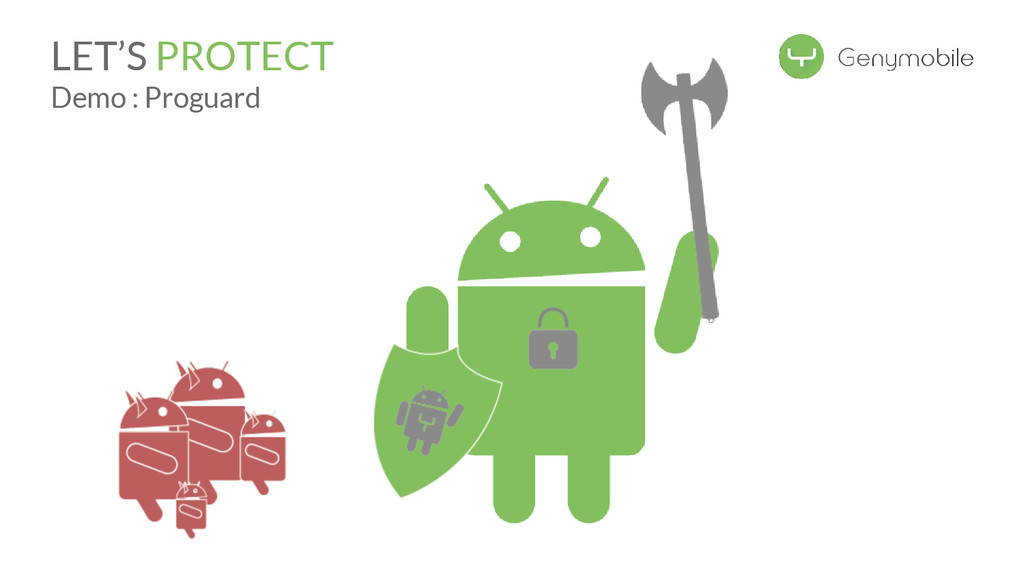 LET'S PROTECT Demo : Proguard