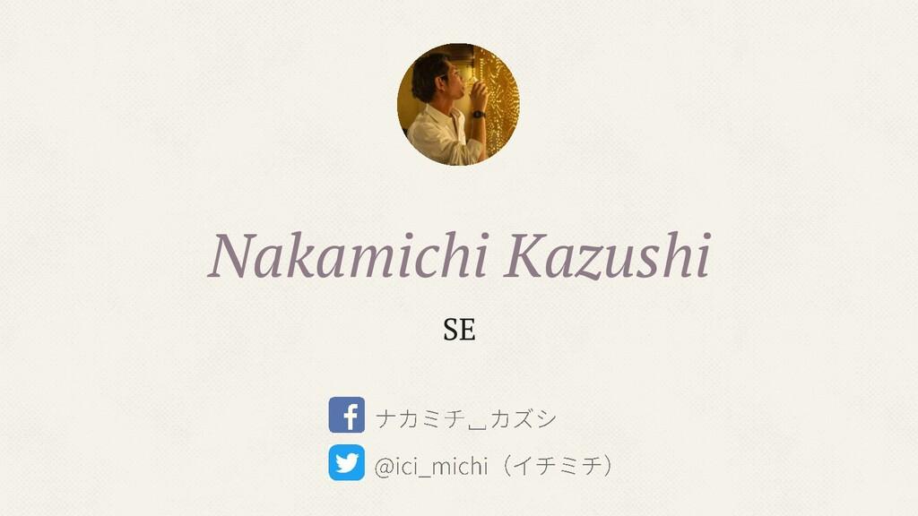 Nakamichi Kazushi SE
