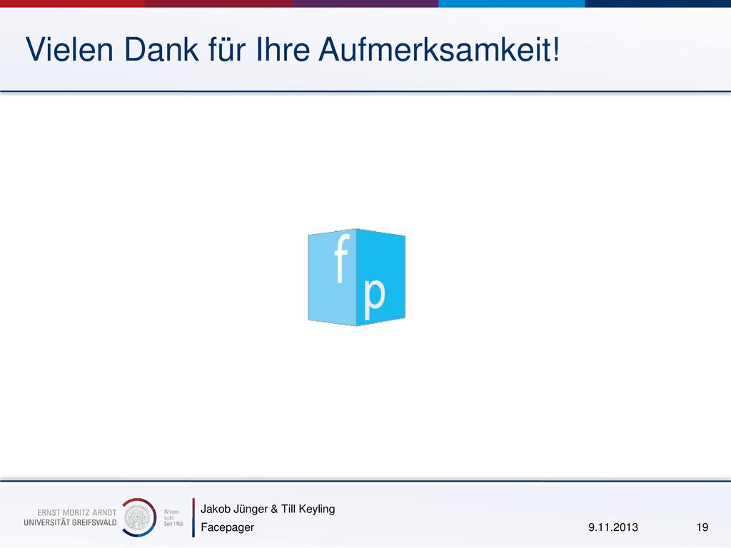 Jakob Jünger & Till Keyling Vielen Dank für Ihr...