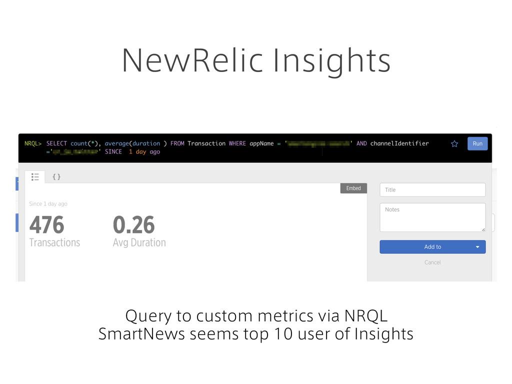 NewRelic Insights Query to custom metrics via N...