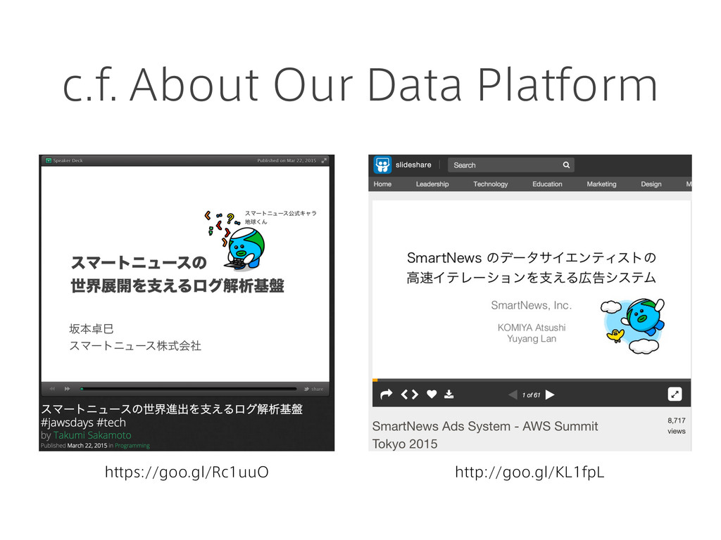 c.f. About Our Data Platform https://goo.gl/Rc1...