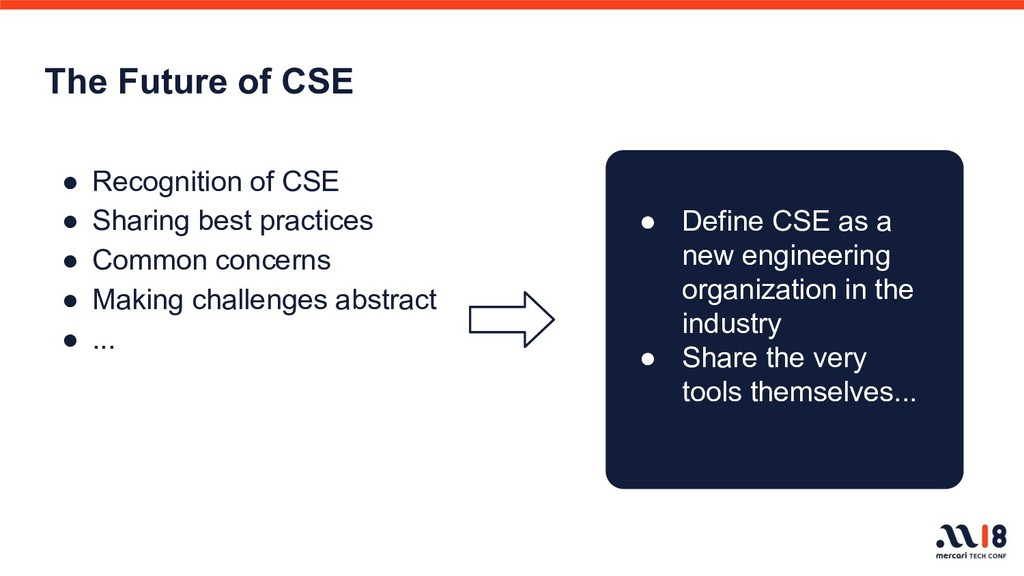 The Future of CSE ● Recognition of CSE ● Sharin...