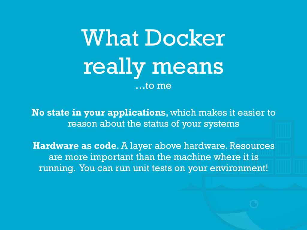 What Docker