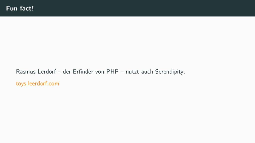 Fun fact! Rasmus Lerdorf – der Erfinder von PHP ...