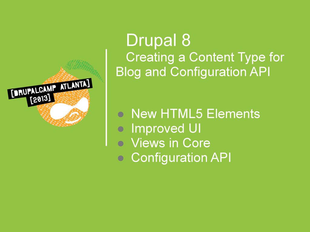 Drupal 8 Creating a Content Type for Blog and C...