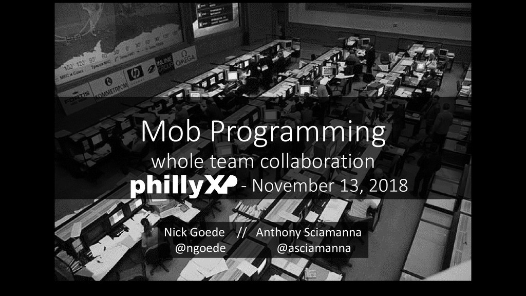 Mob Programming whole team collaboration - Nove...