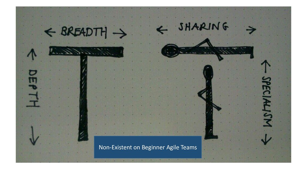 Non-Existent on Beginner Agile Teams