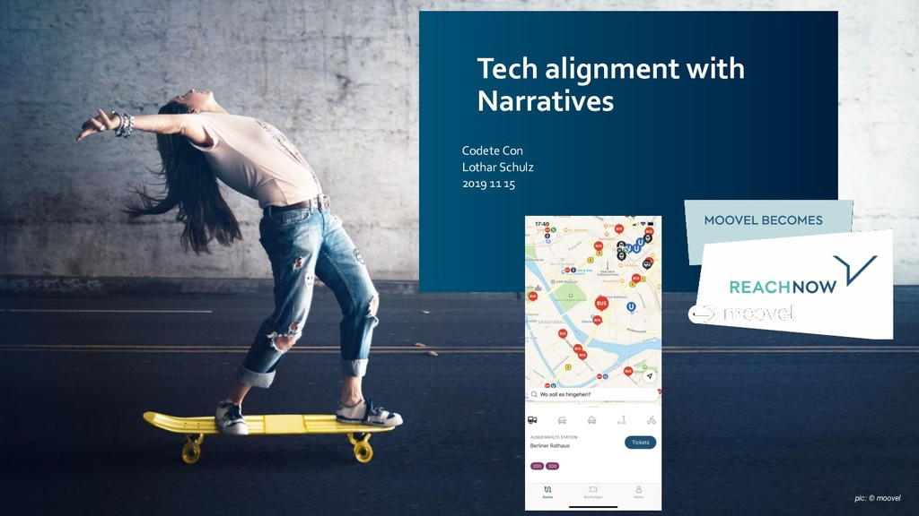 Tech alignment with Narratives Codete Con Lotha...