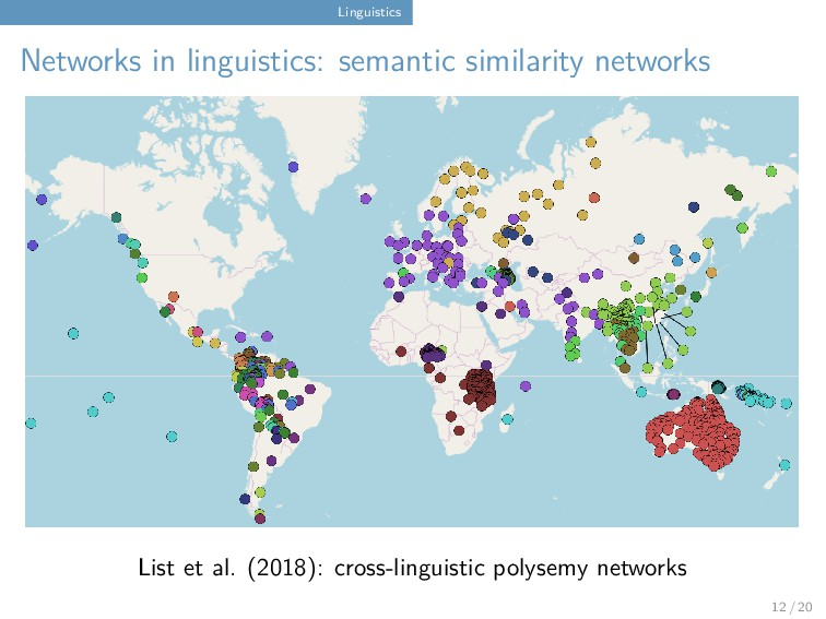 Linguistics Networks in linguistics: semantic s...
