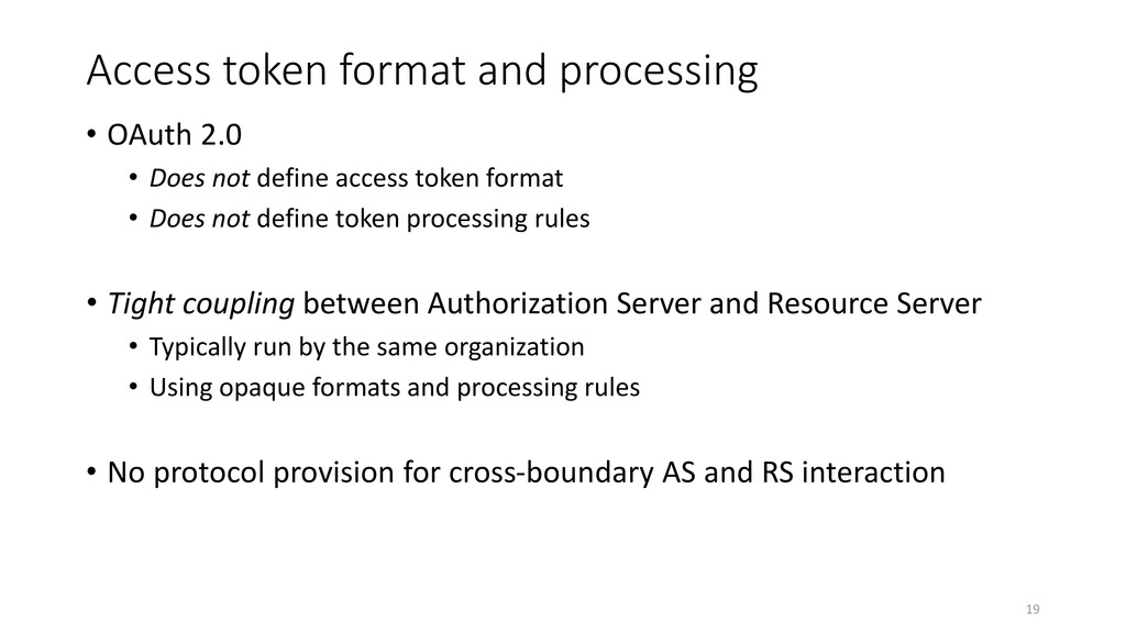 Access token format and processing • OAuth 2.0 ...