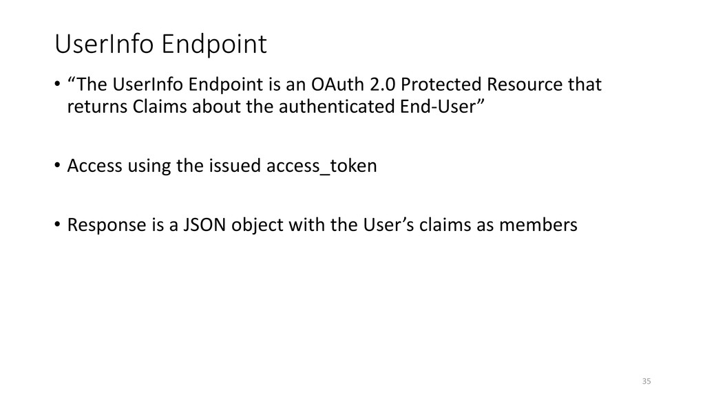 """UserInfo Endpoint • """"The UserInfo Endpoint is a..."""
