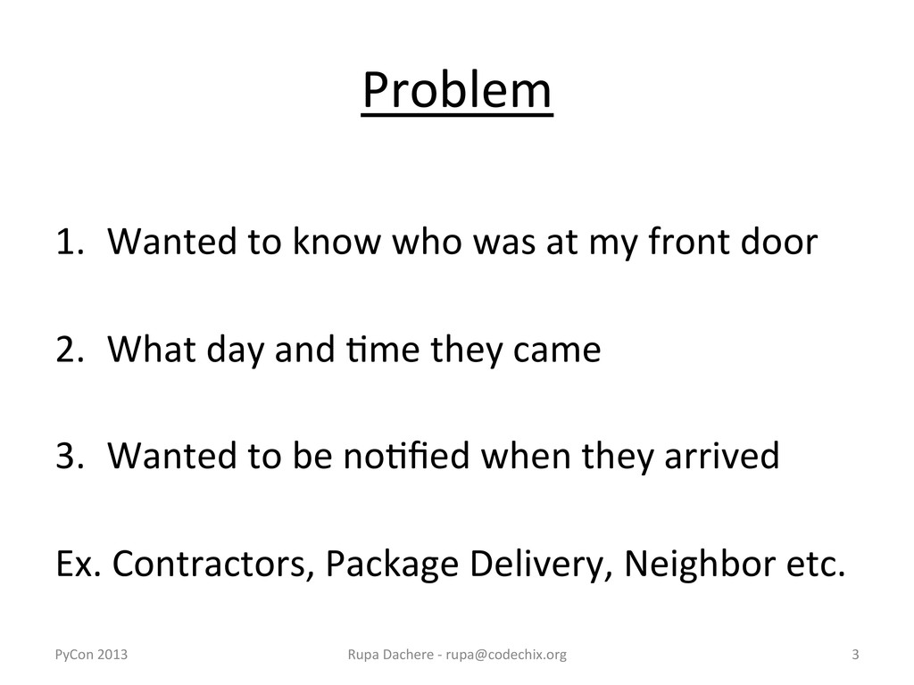 Problem    1. Wanted to know wh...
