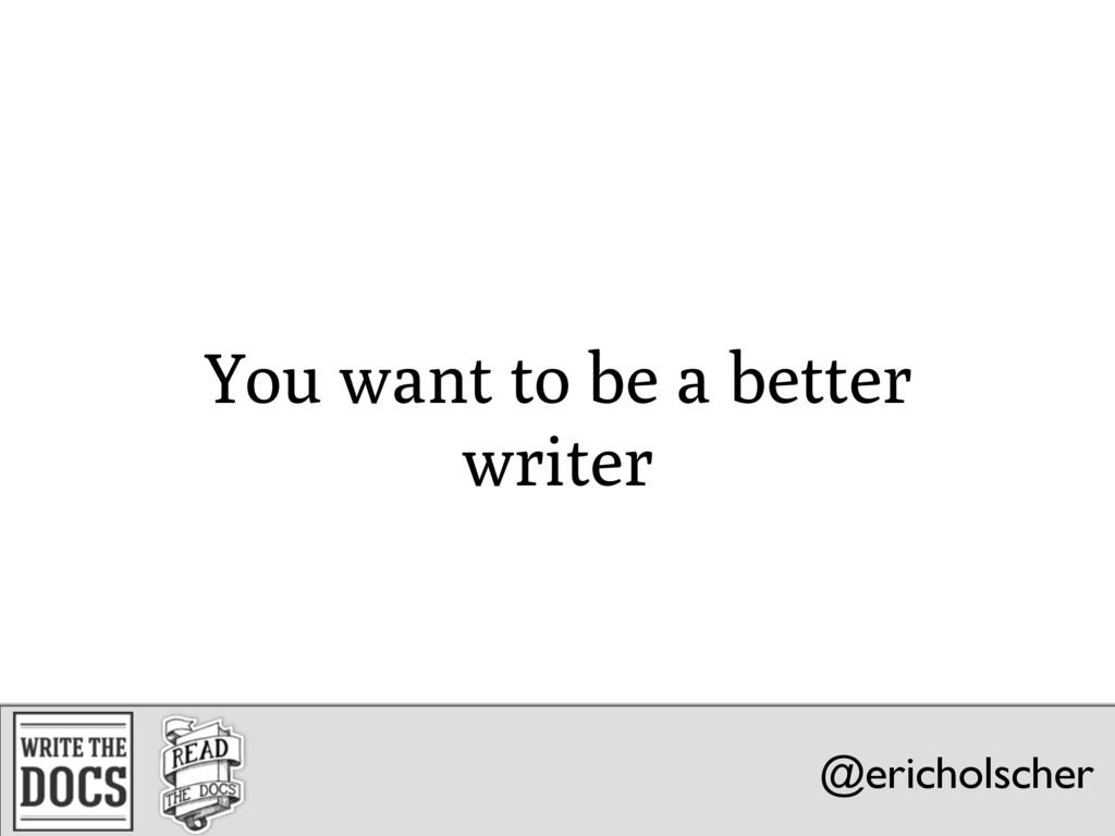 @ericholscher @ericholscher writethedocs.org @e...
