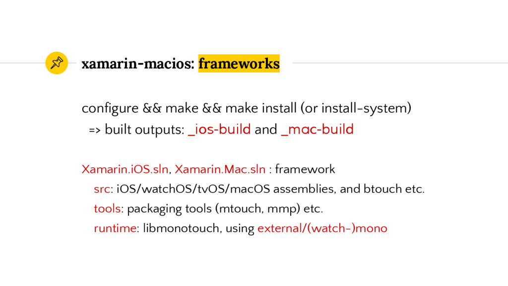 xamarin-macios: frameworks configure && make &&...