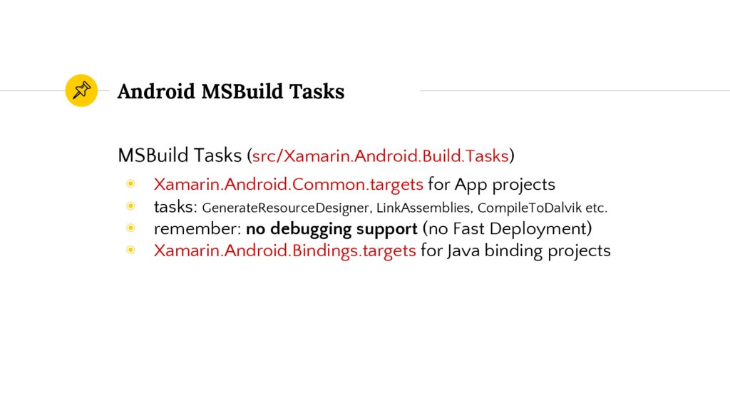 Android MSBuild Tasks MSBuild Tasks (src/Xamari...