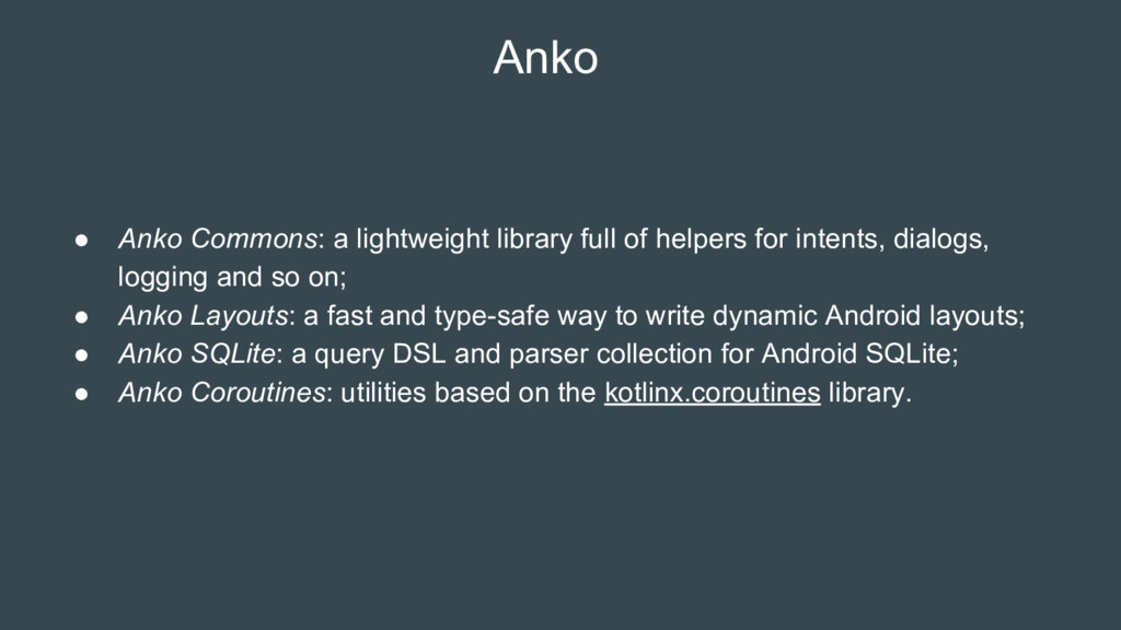 Anko ● Anko Commons: a lightweight library full...
