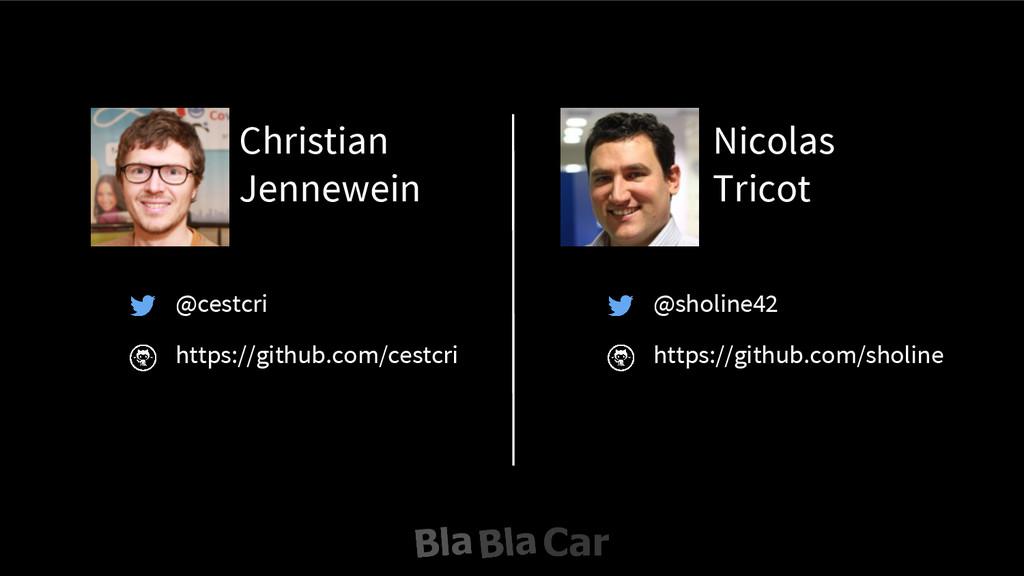 Christian Jennewein Nicolas Tricot @cestcri htt...
