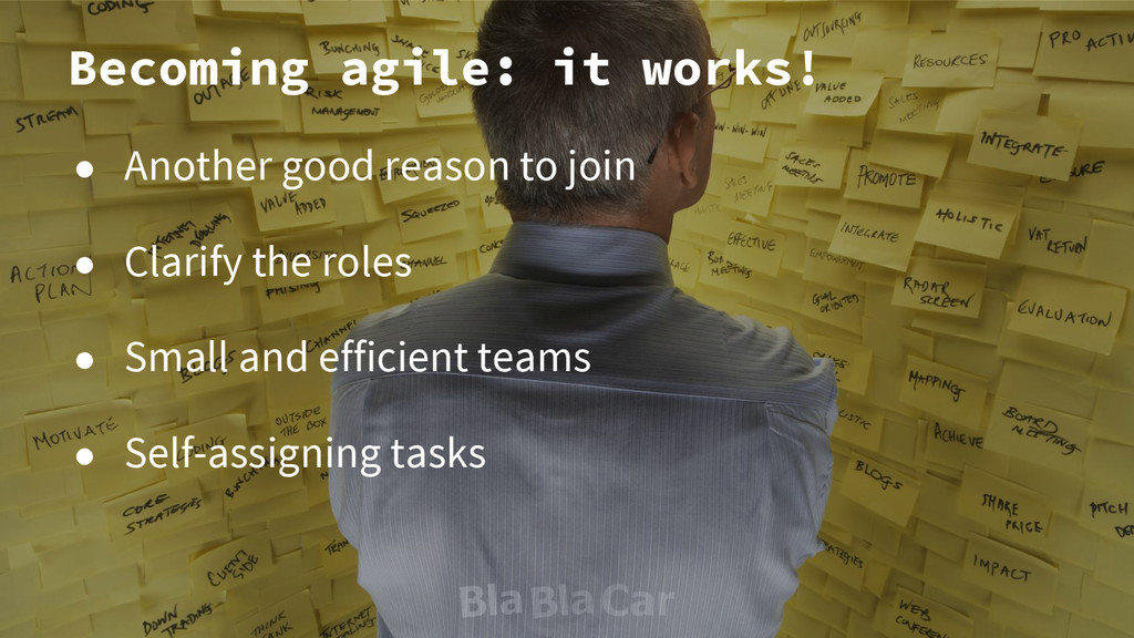 Becoming agile: it works! ● Another good reason...