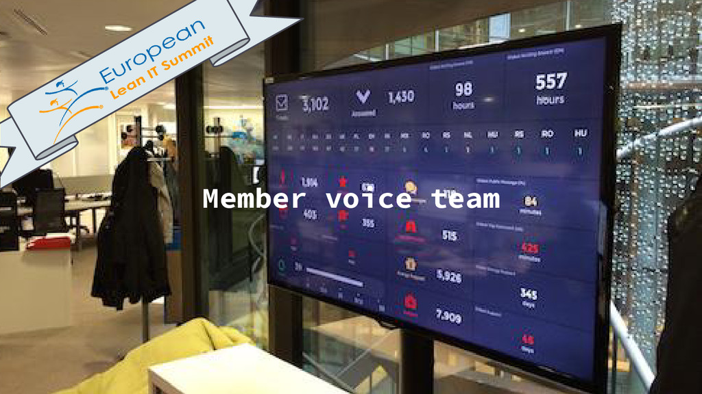 Member voice team