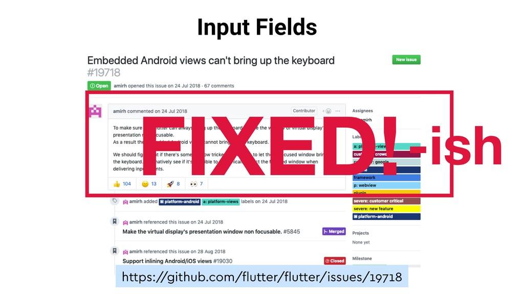 Input Fields https:/ /github.com/flutter/flutter/...
