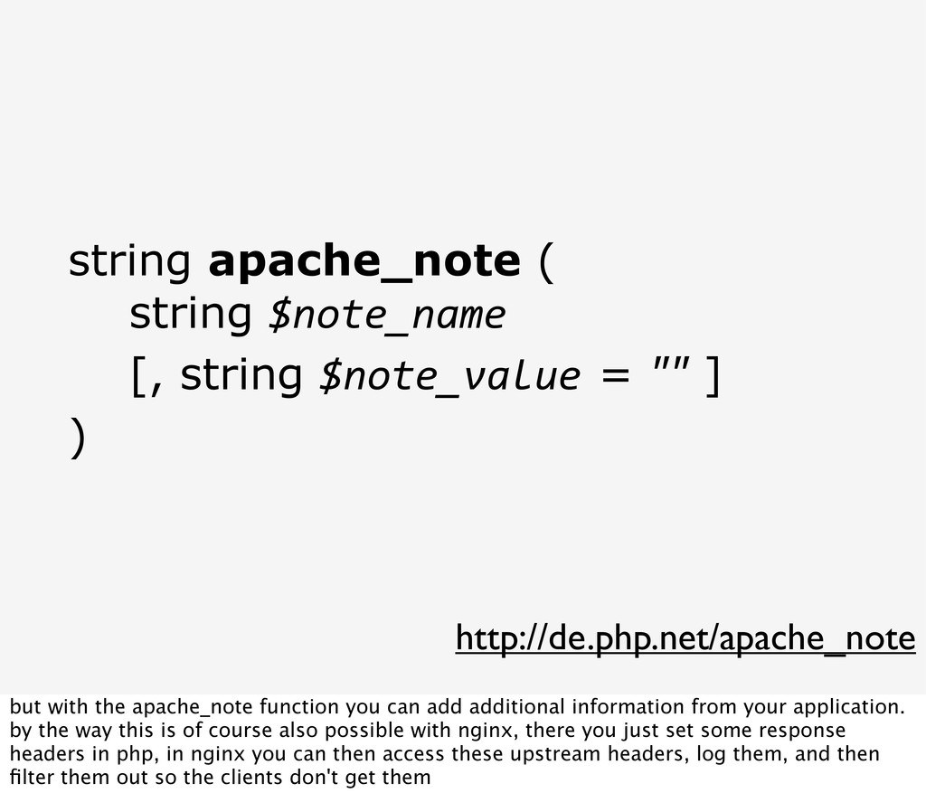 http://de.php.net/apache_note string apache_not...