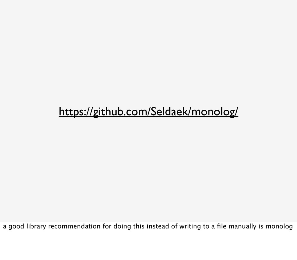 https://github.com/Seldaek/monolog/ a good libr...