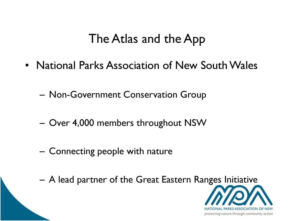 The Atlas and the App • National Parks Associat...