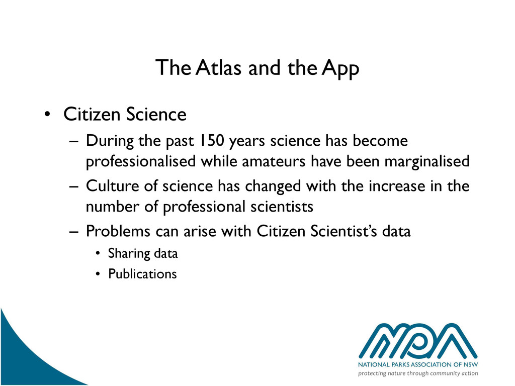The Atlas and the App • Citizen Science – Durin...