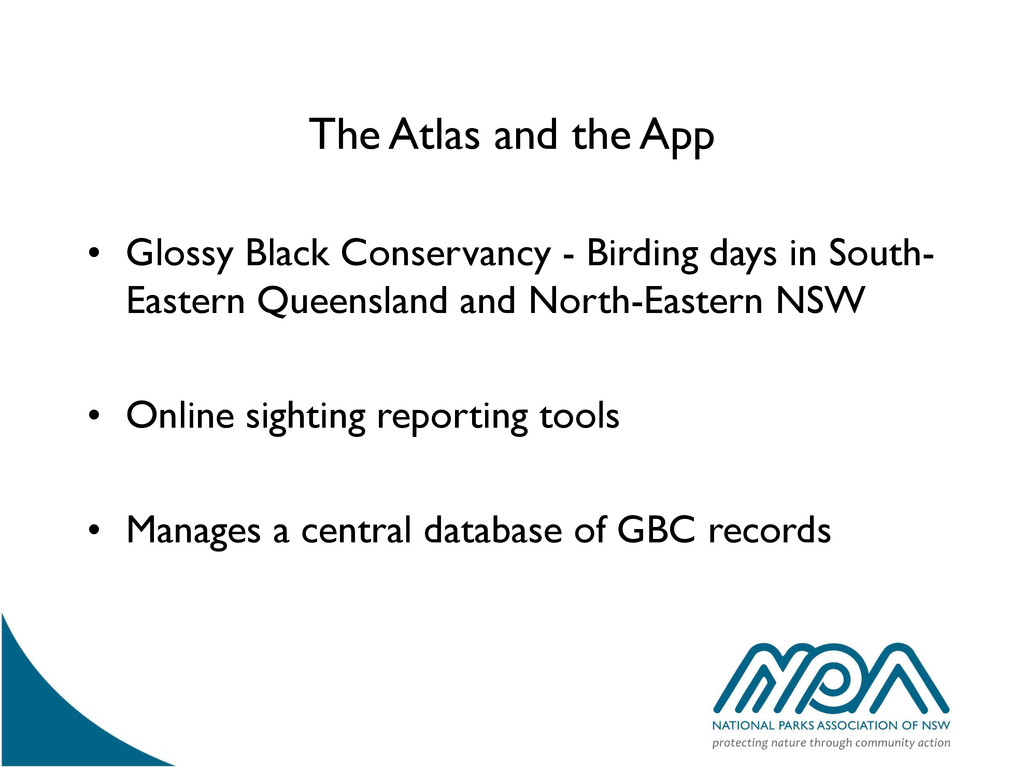 The Atlas and the App • Glossy Black Conservanc...
