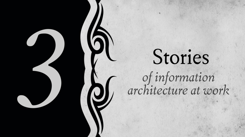 of information architecture at work Stories 3