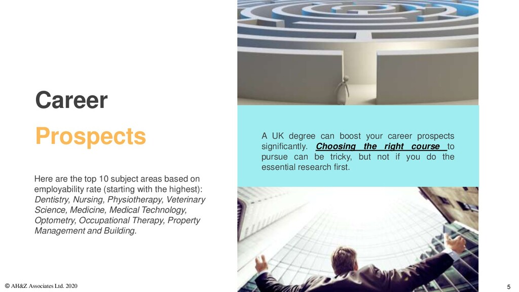 A UK degree can boost your career prospects sig...