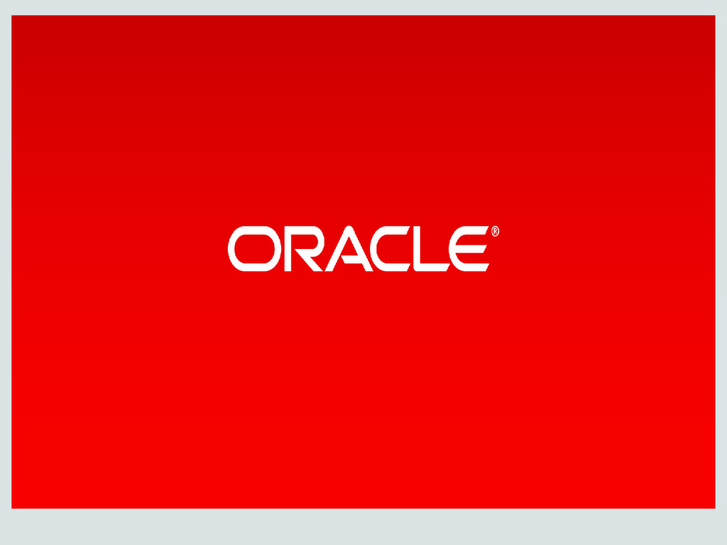 Copyright © 2014, Oracle and/or its affiliates....