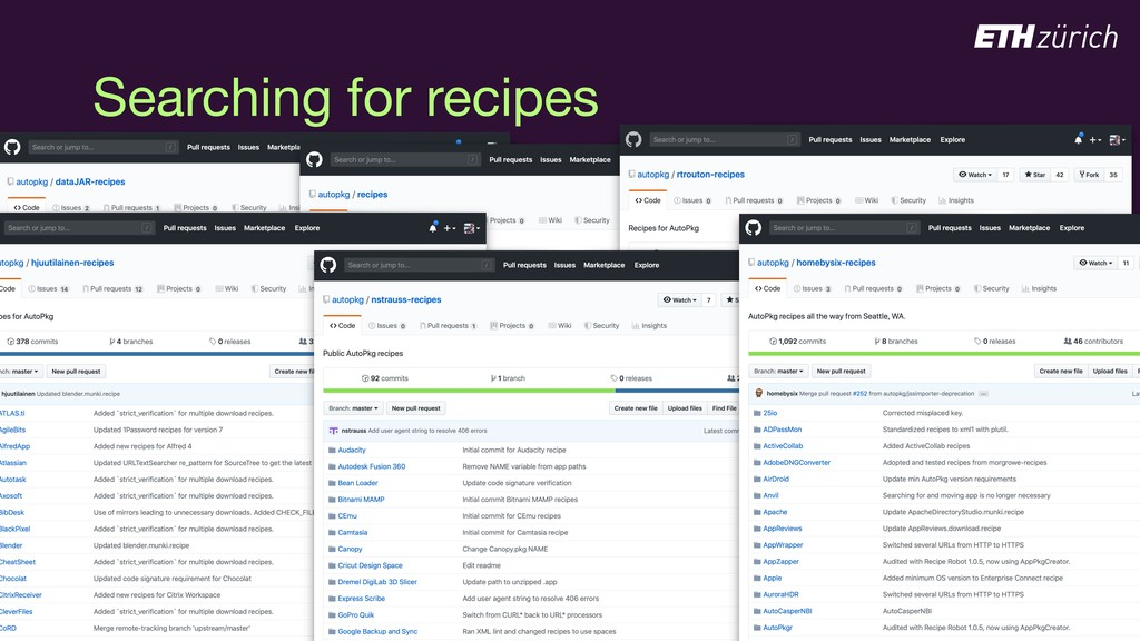 © JAMF Software, LLC Searching for recipes