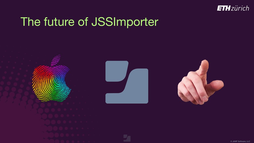 © JAMF Software, LLC The future of JSSImporter