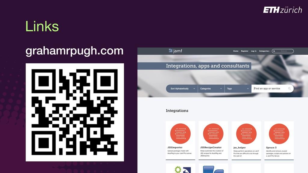 Links grahamrpugh.com