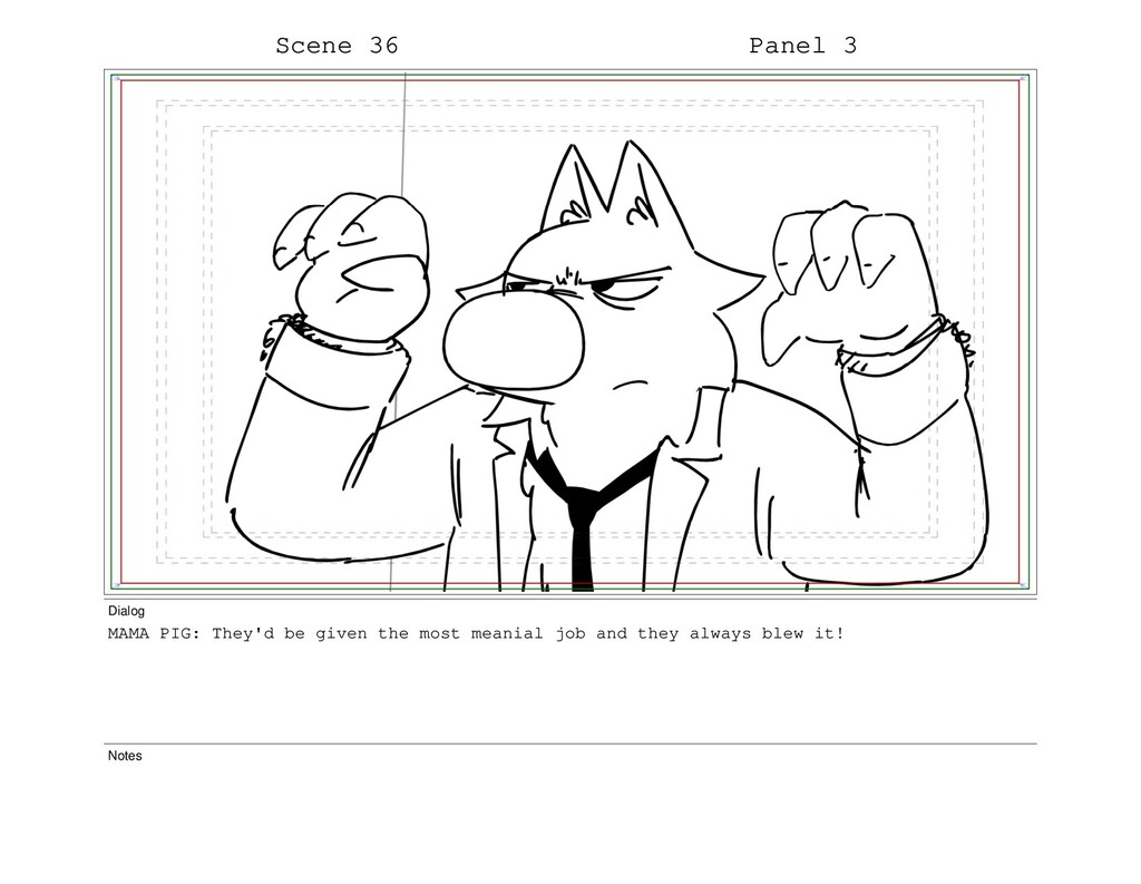 Scene 36 Panel 3 Dialog MAMA PIG: They'd be giv...