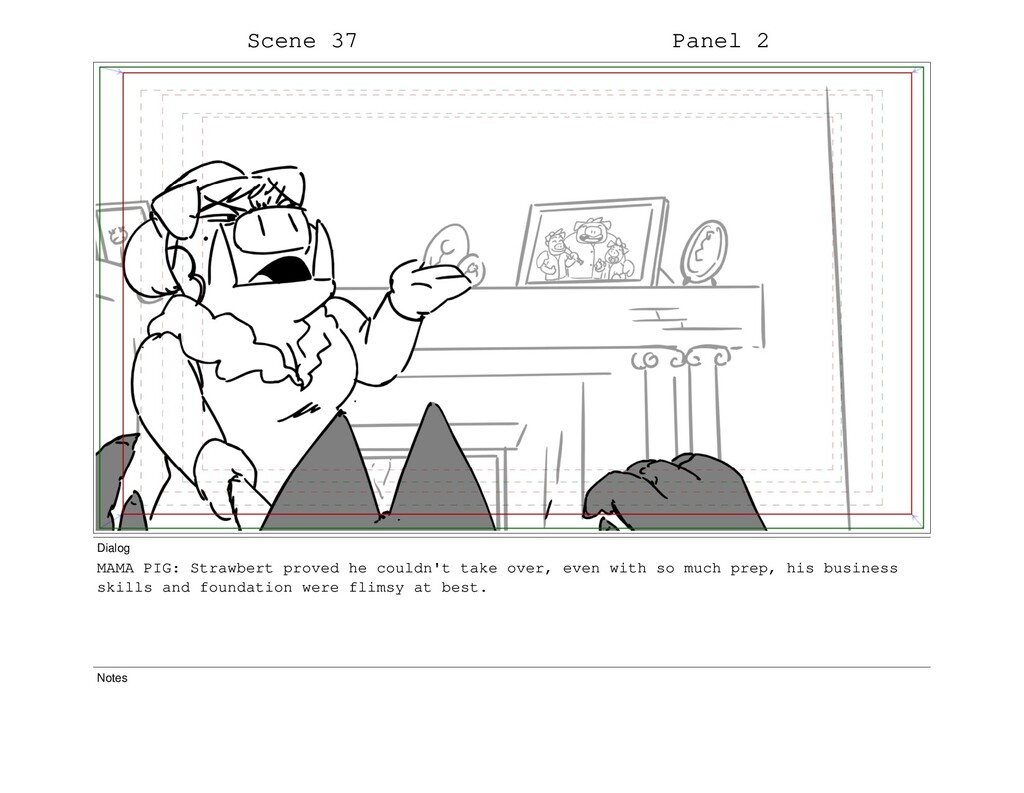 Scene 37 Panel 2 Dialog MAMA PIG: Strawbert pro...