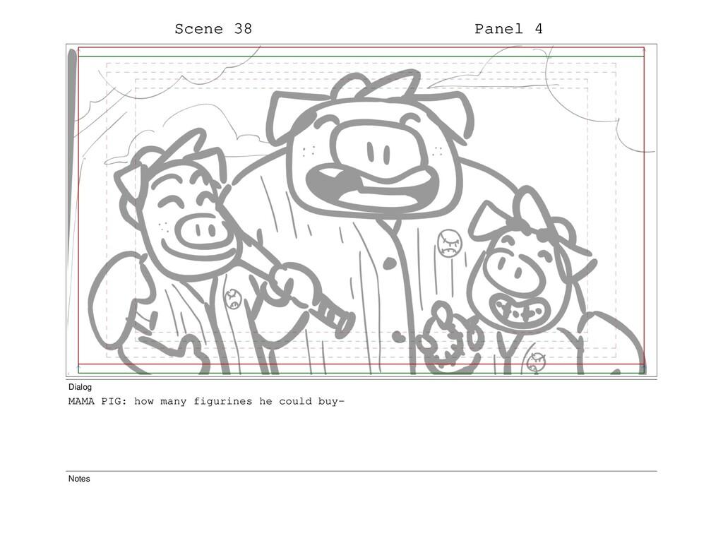 Scene 38 Panel 4 Dialog MAMA PIG: how many figu...