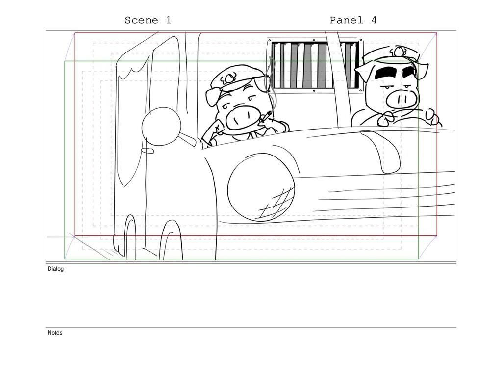 Scene 1 Panel 4 Dialog Notes