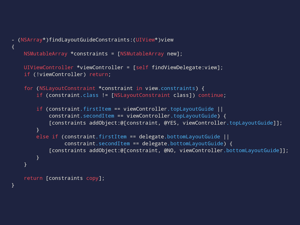 - (NSArray*)findLayoutGuideConstraints:(UIView*...
