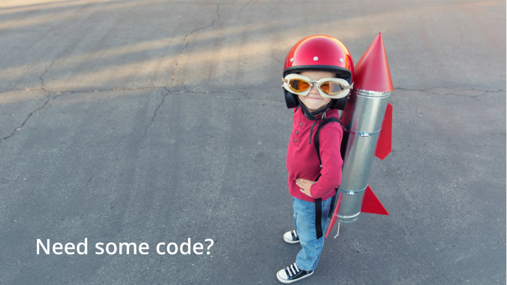 Need some code?