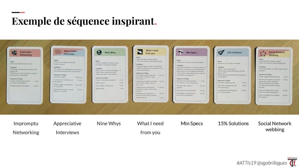 105 Exemple de séquence inspirant. Impromptu Ne...