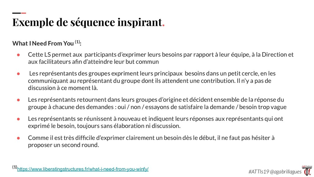 109 Exemple de séquence inspirant. What I Need ...