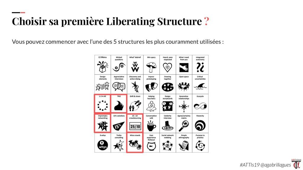 38. Choisir sa première Liberating Structure ? ...