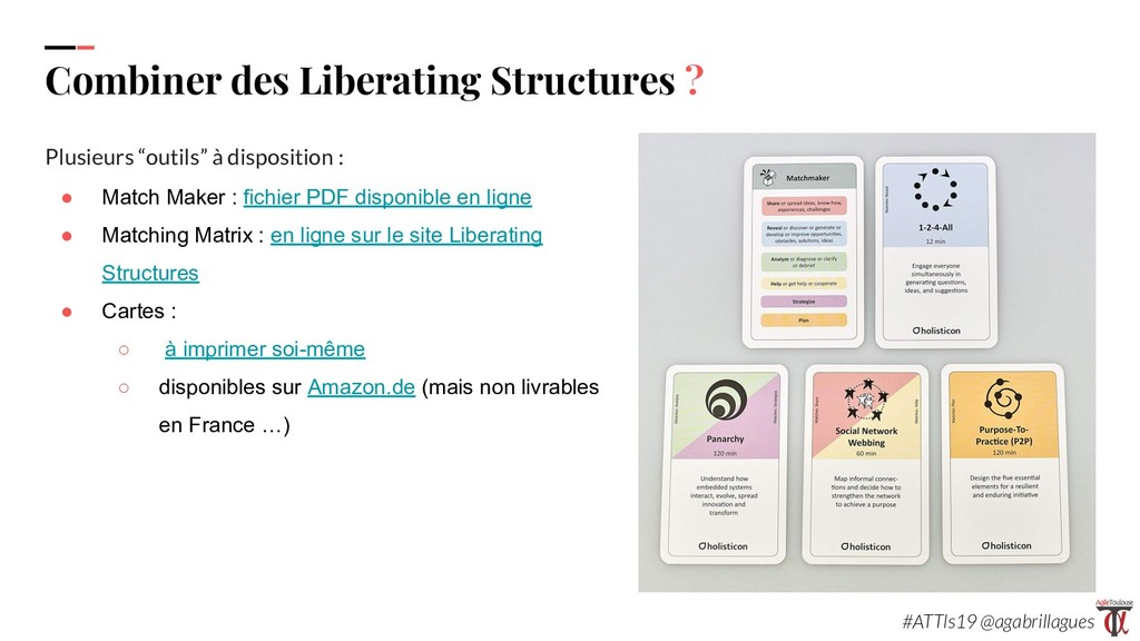 99. Combiner des Liberating Structures ? Plusie...