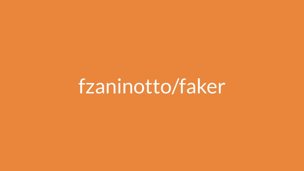 fzaninotto/faker
