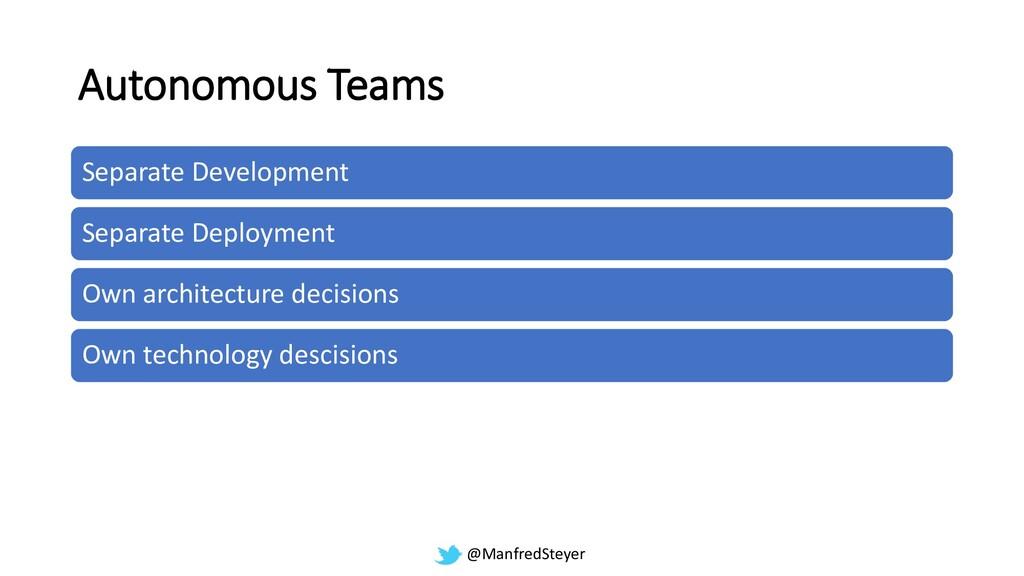 @ManfredSteyer Autonomous Teams Separate Develo...