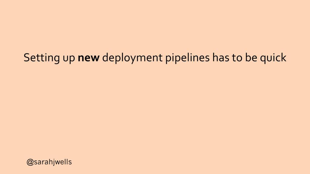 @sarahjwells Setting up new deployment pipeline...
