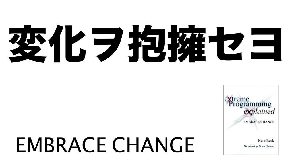มԽϮ๊༴ηϤ EMBRACE CHANGE